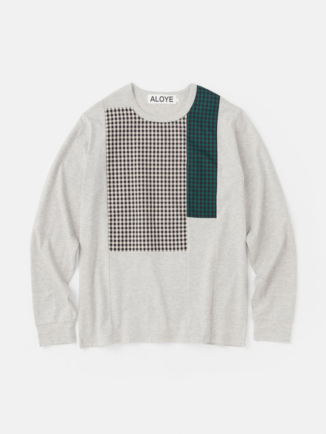 ALOYE Shirt Fabrics Long Sleeve T-shirt Heather Gray