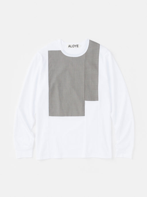 ALOYE Shirt Fabrics Long Sleeve T-shirt White