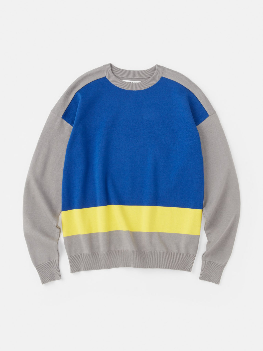 ALOYE G.F.G.S. Cotton Knitted Sweater Gray