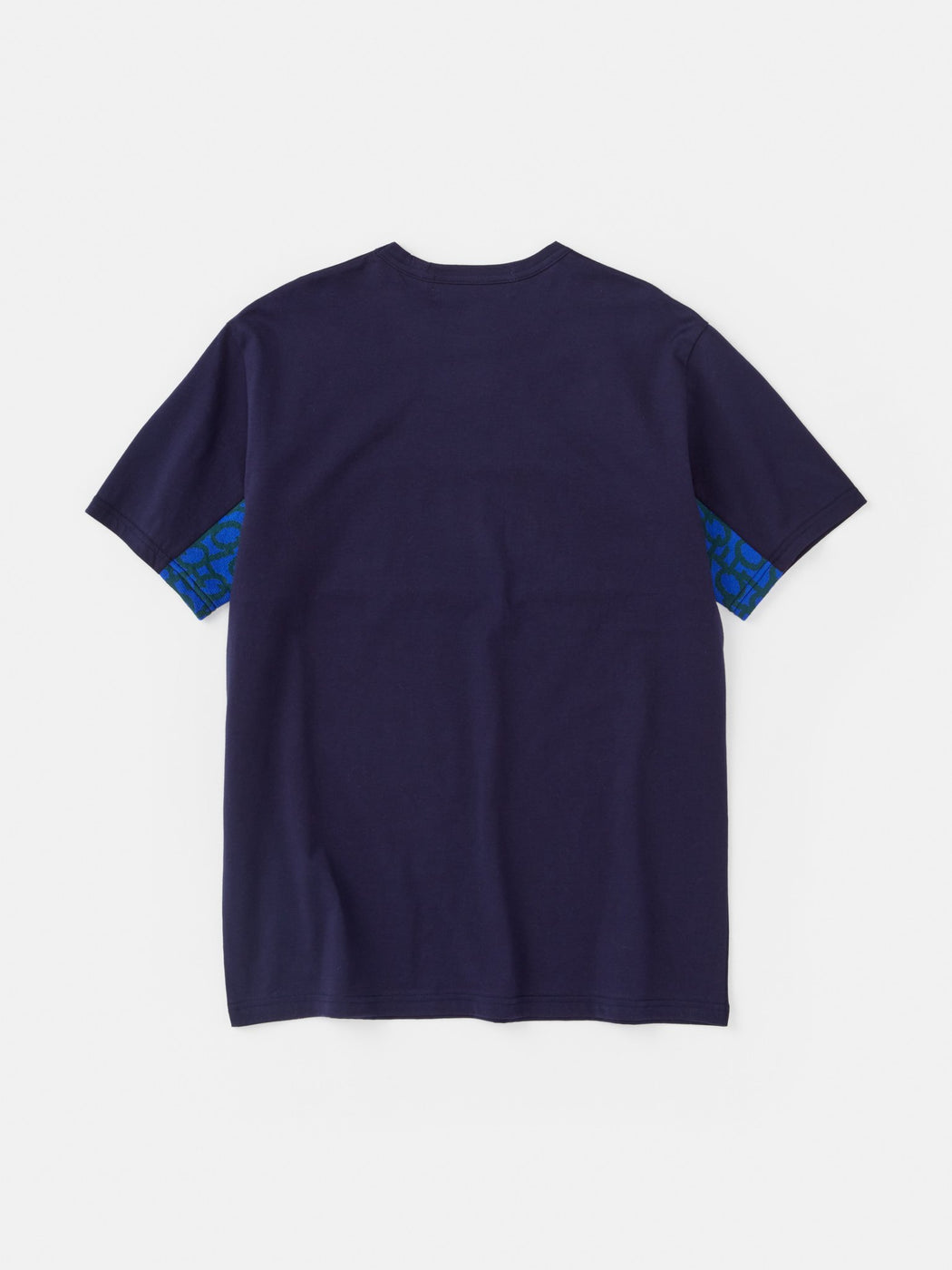 ALOYE Takahashi Knit Short Sleeve T-shirt Navy