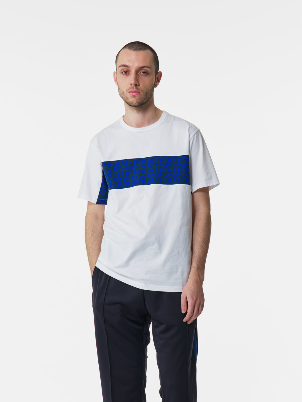 ALOYE Takahashi Knit Short Sleeve T-shirt White