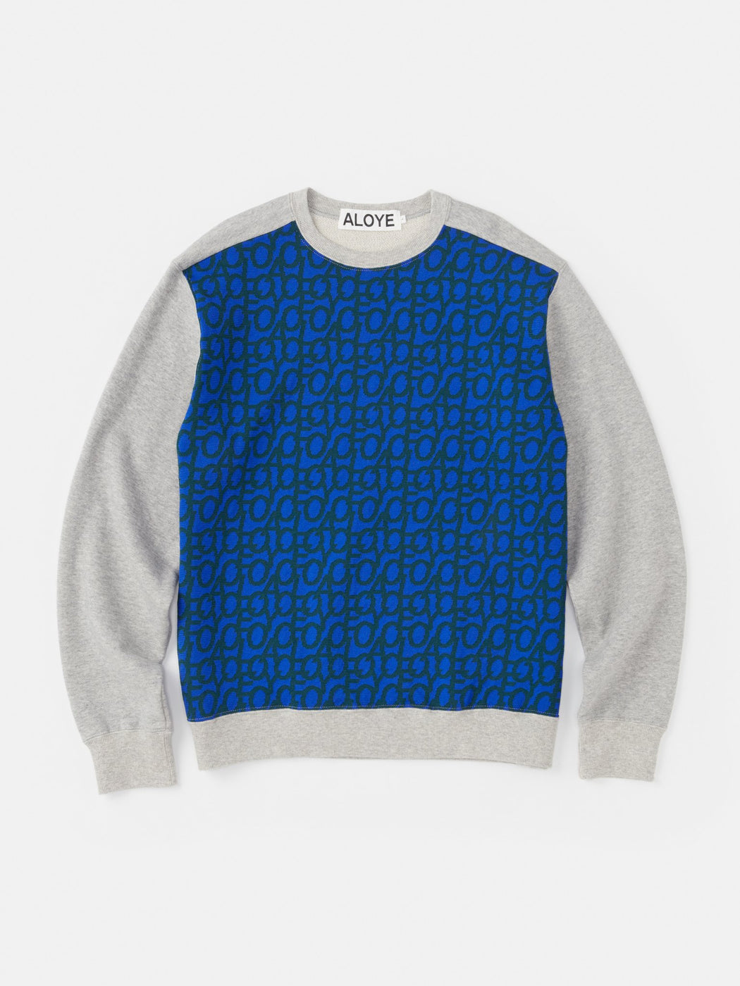 ALOYE Takahashi Knit Sweatshirt Heather Gray