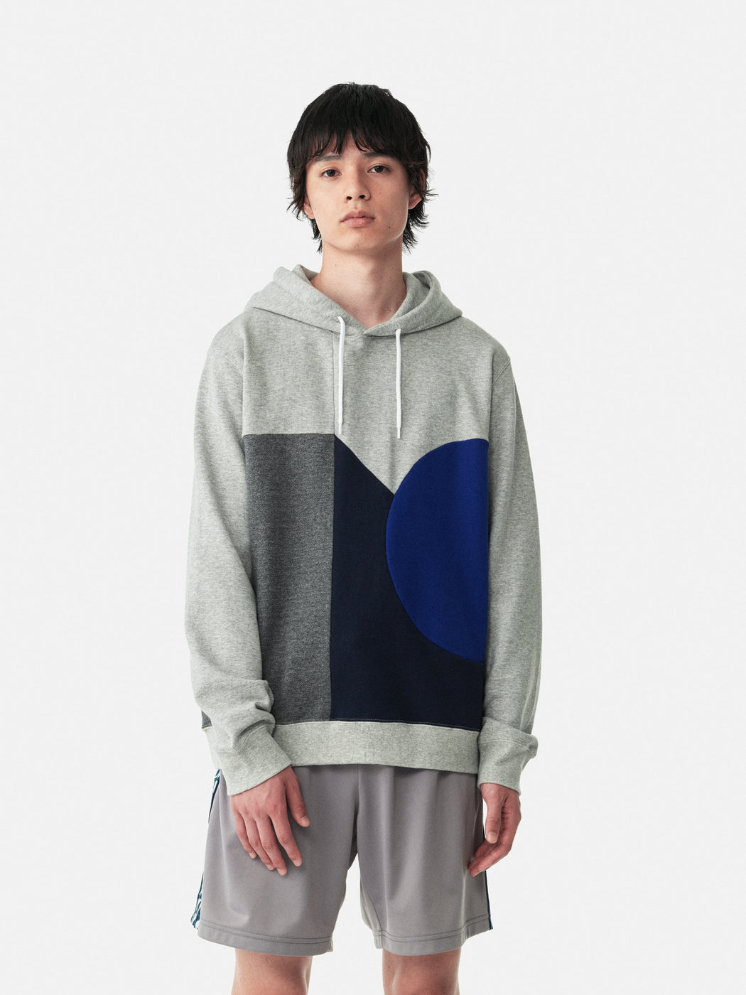 ALOYE Color Blocks Hoodie Color