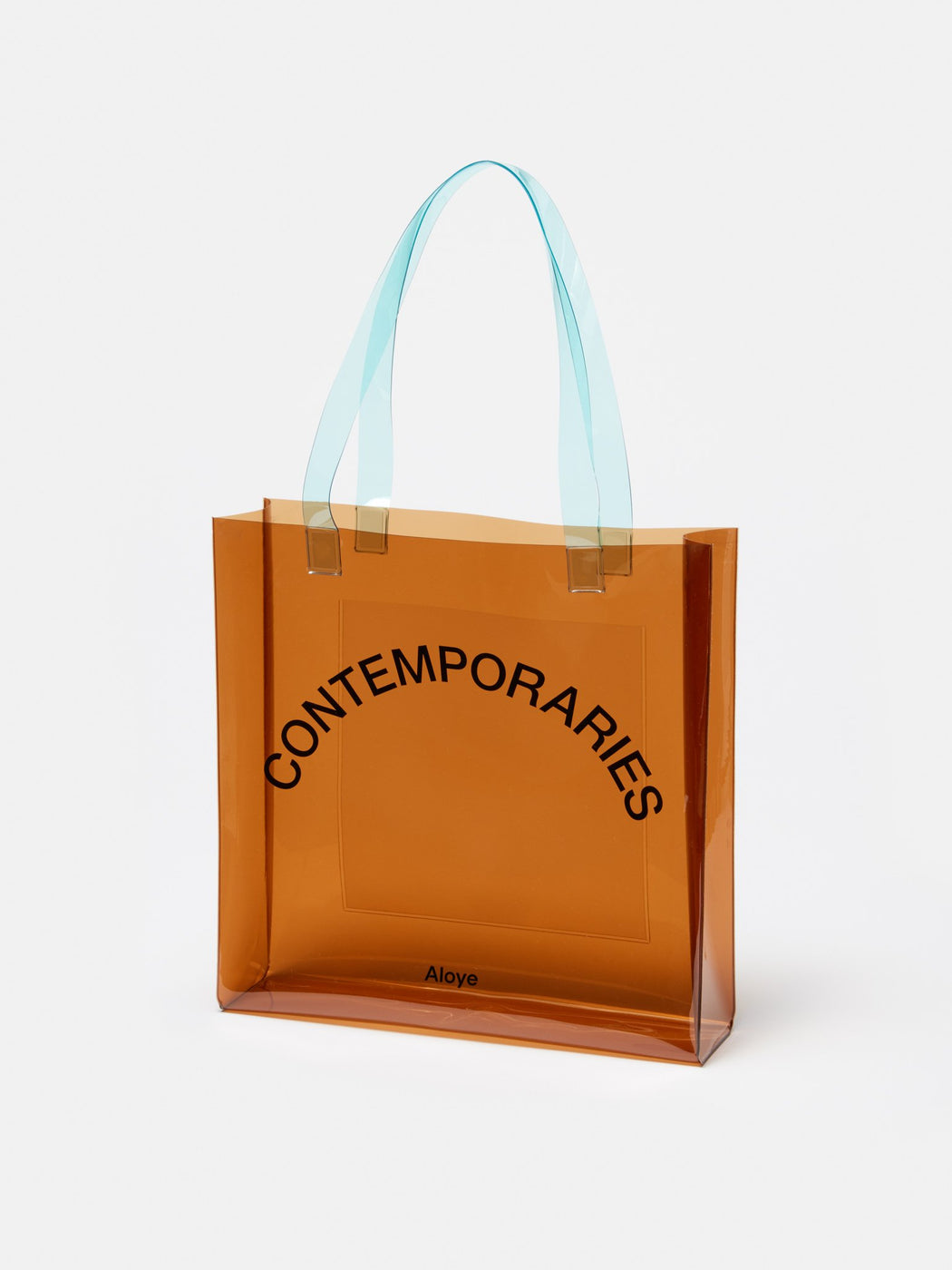 ALOYE Contemporaries PVC Tote Brown