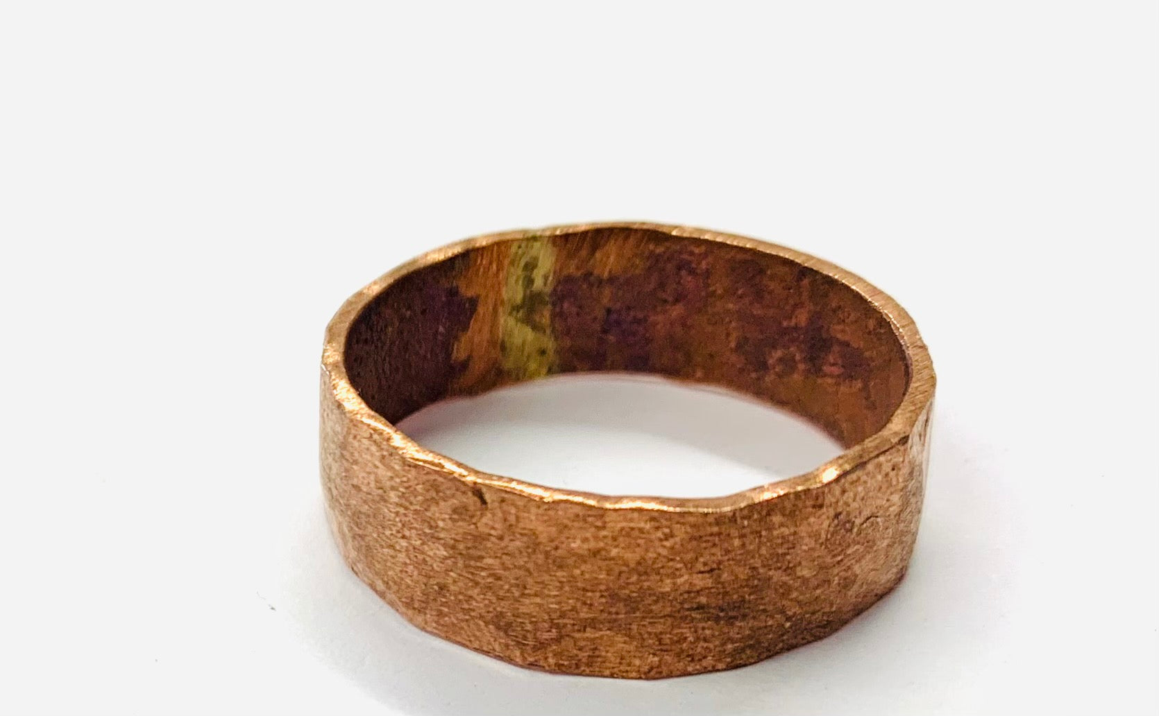Classic copper ring
