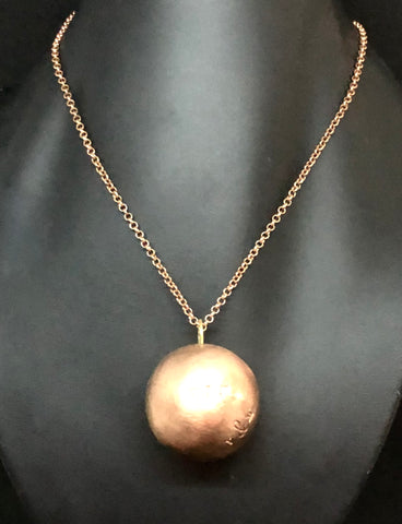 Copper Sfere pendant