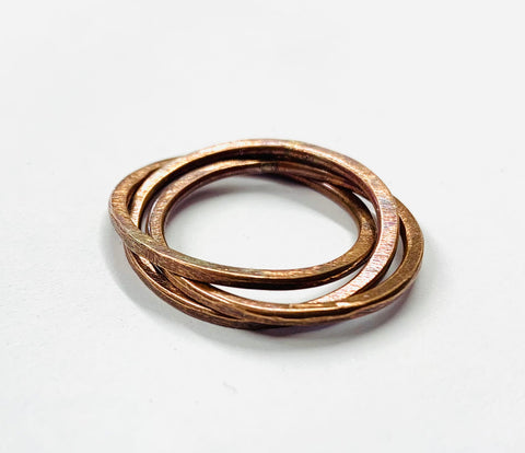 Russian copper rings