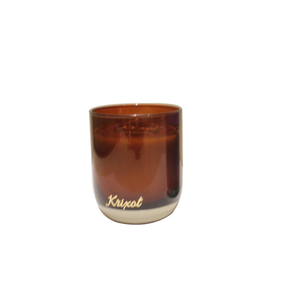 JAR SCENTED CANDLE BROWN - OUD AND BERGAMOT AROMA