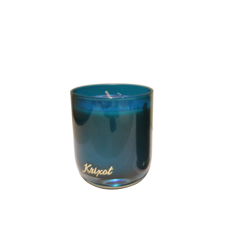 JAR SCENTED CANDLE BLUE  - SUNSET BREEZE AROMA