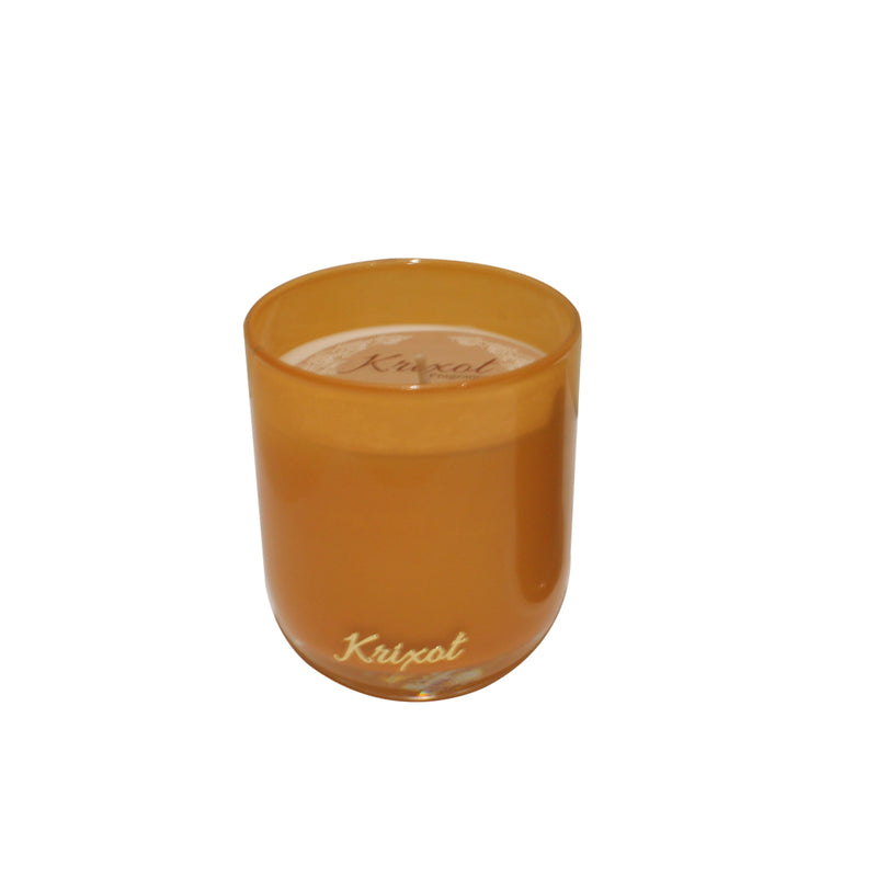 JAR SCENTED CANDLE  ORANGE - VANILLA MEDAGASCAR AROMA
