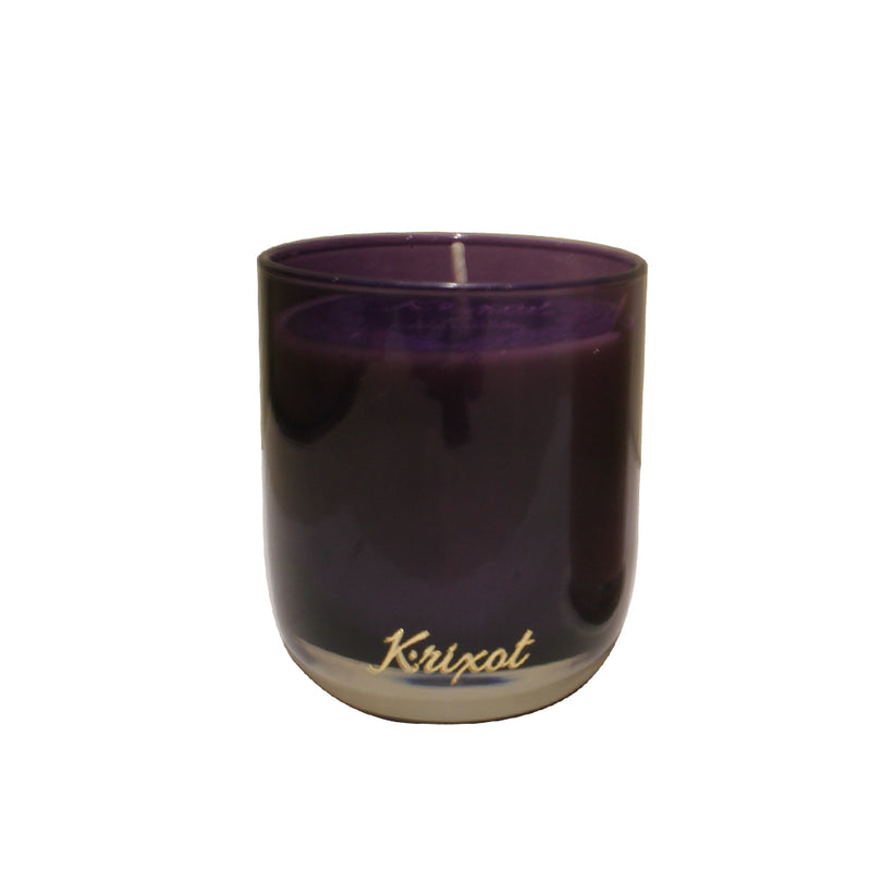 JAR SCENTED CANDLE PURPLE  - FRENCH LAVENDER AROMA