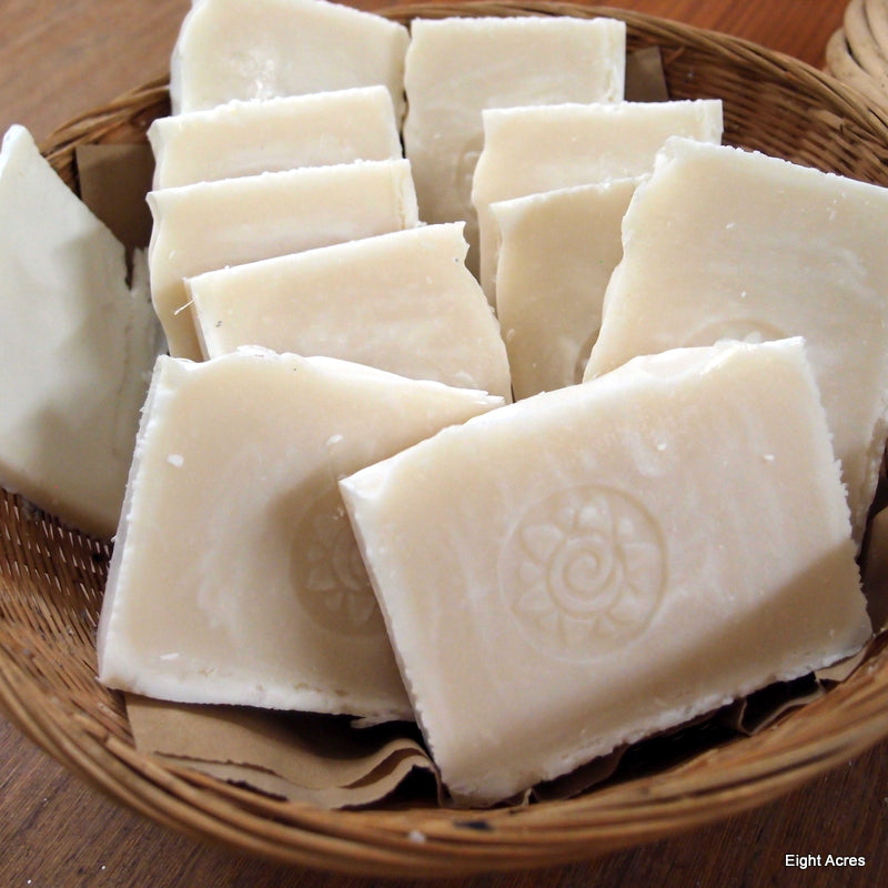 Natural handmade tallow soap recipe: pure tallow