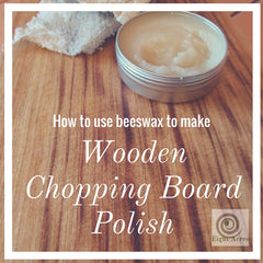 How to make a wooden chopping board polish