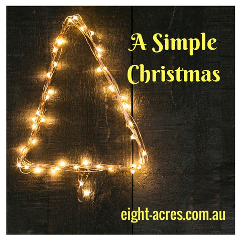 A simple Christmas with eight acres