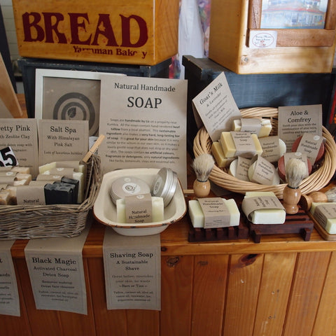 Sassy Mama Nanango stocks Eight Acres Natural Handmade Soaps