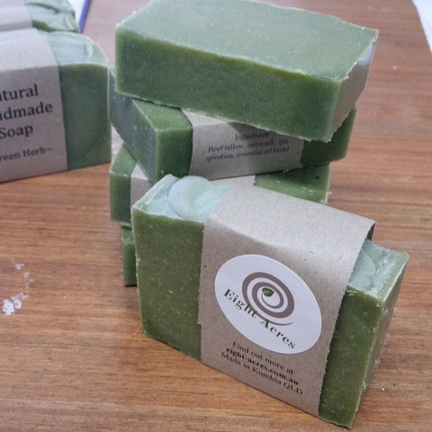 Green Herb Natural Soap