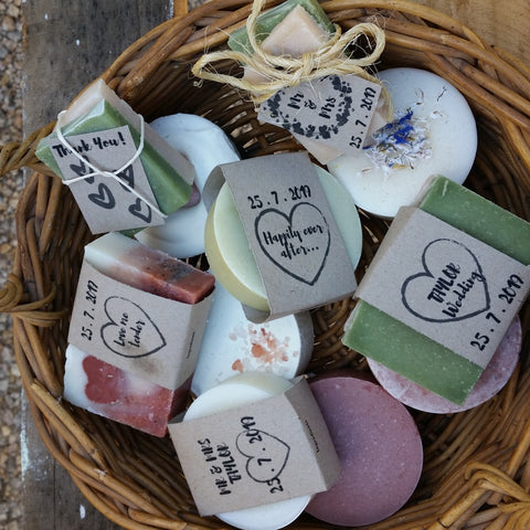 Custom Fancy Soaps - bulk buy for special occasions, weddings, baby showers, bed and breakfast etc.