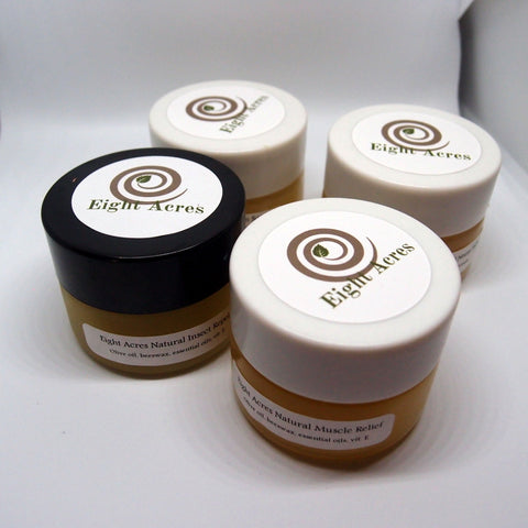 Natural Skin Salve Sample Pack - try all four salves