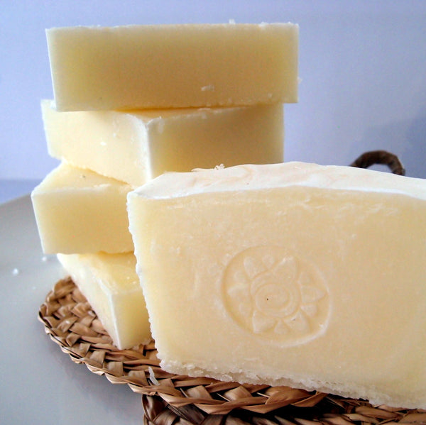 Pure and Simple Natural Soap - made with 100% beef tallow by Eight Acres