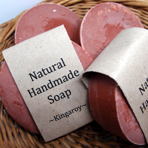 Kingaroy Natural Soap - with peanut oil and red clay
