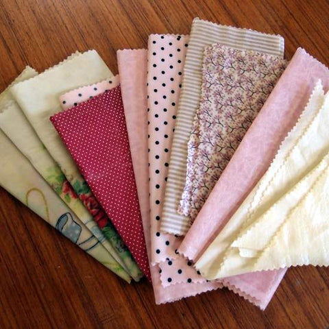 Beeswax Wraps - 2 pack - various sizes and colours