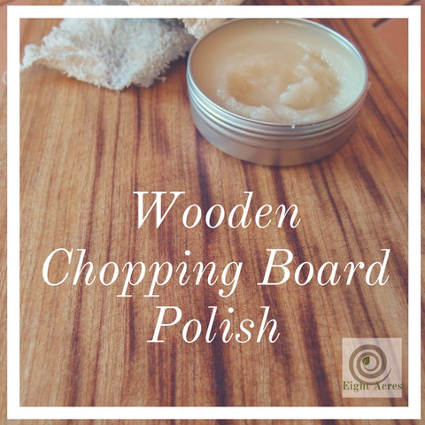 Natural Wooden Chopping Board Polish