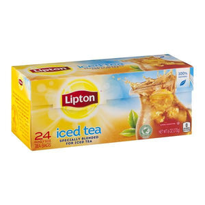 Lipton Iced Black Tea Family Size Tea bags