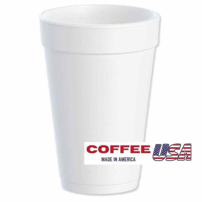 Wincup Foam Cups 12 oz. and 16 oz.