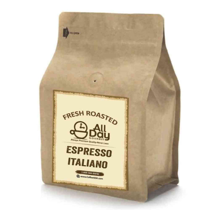 Espresso Italiano - All Day Gourmet Fresh Roasted Coffee
