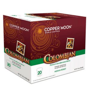 Copper Moon Decaf Colombian Single Cups
