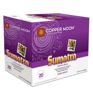 Copper Moon Single Cups for Capsule Brewers - Sumatra