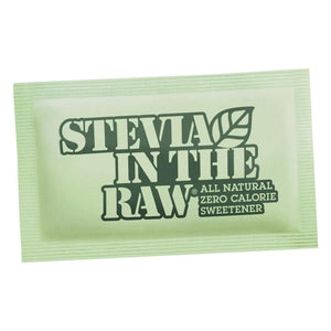 Stevia In The Raw - All-Natural Zero-Calorie Sweetener - Packets - 1,000ct Bulk Box