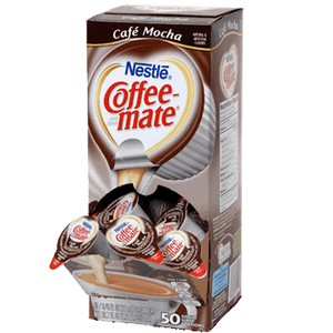 Coffee-mate Liquid Coffee Creamer Tubs - Café Mocha - 50ct Box