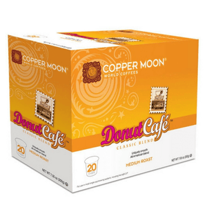 Copper Moon Donut Cafe Single Cups