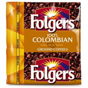 Folgers Coffee - 100% Colombian - 42 - 1.75 oz. Pillow Pack