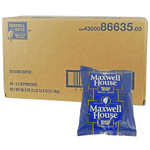 Maxwell House Master Blend Packs 42 Count - 1.1 oz.