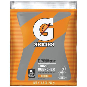 Gatorade Instant Powder Mix - Orange - 8.5oz Package (1 Gallon)