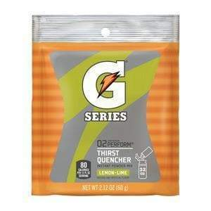 Gatorade Instant Powder Mix - Lemon Lime - 2.12oz Package (1 Quart) ***CASE ONLY***