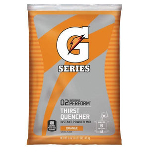 Gatorade Instant Powder Mix - Orange - 51oz Package (6 Gallon) ***CASE ONLY***