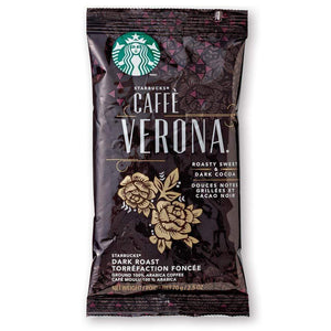 Starbucks Coffee - Caffe Verona - 2.5oz Pillow Pack - 18ct Box