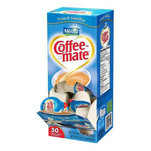 Coffee-mate Liquid Creamer Tubs - French Vanilla - 50ct Box