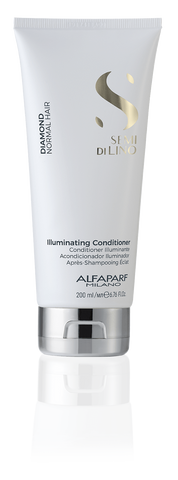 AlfaParf Semi Di Lino Diamond Illuminating Conditioner 200ml-1liter best shampoo and conditioner for frizzy