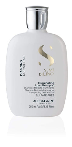 AlfaParf Semi Di Lino Diamond Illuminating Shampoo 250ml-1liter best shampoo and conditioner for frizzy