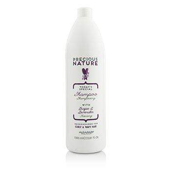 AlfaParf Precious Nature Shampoo (For Curly & Wavy Hair) 1liter best shampoo and conditioner for frizzy