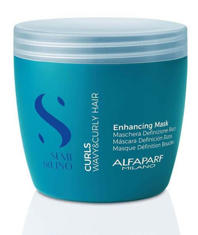 Alfaparf Semi Di Lino Curls Enhancing Mask 500ml best shampoo and conditioner for frizzy