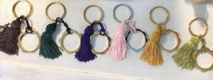 New FLOWER POWER Key Rings by V DESIGN LAB: a great Gift idea!