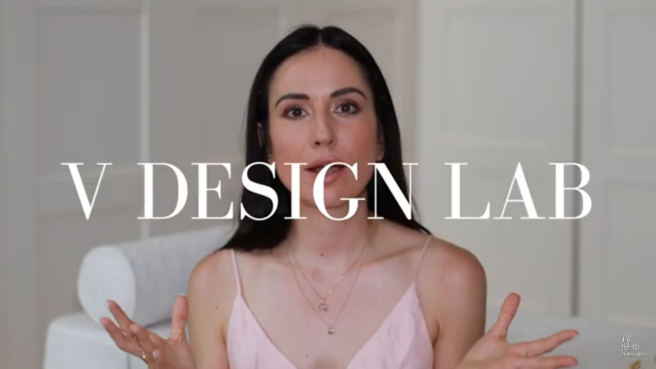 V DESIGN LAB featured as a favourite by Influencer Alexandra Sash