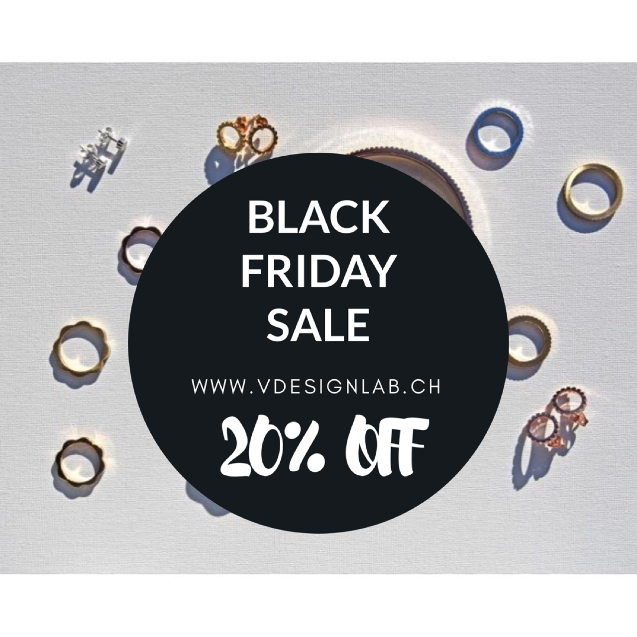 V DESIGN LAB Jewellery Black Friday?! YES! What is it about?