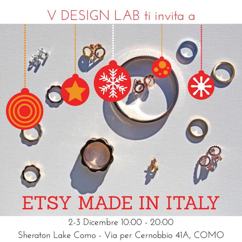 V DESIGN LAB @ Etsy Made in Italy - Como