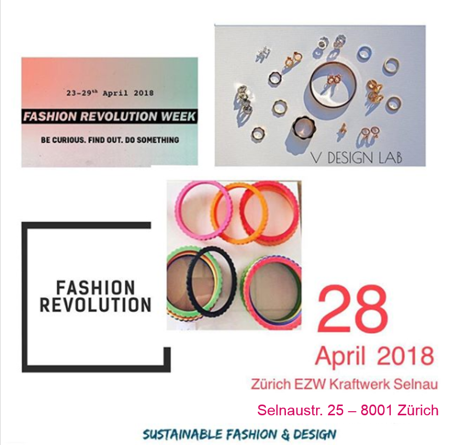 V DESIGN LAB Jewellery at Fashion Revolution Zurich